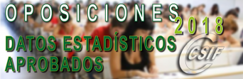 DATOS DE LAS OPOSICIONES DE EDUCACIÓN