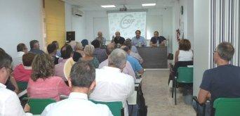 Cerca del medio centenar de delegados sindicales de CSIF en la Región de Murcia han participado esta mañana en una Jornada de Trabajo que ha abierto el presidente nacional