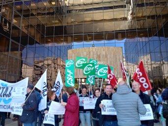 Movilizaciones y huelga general en la Administración de Justicia el 16 de noviembre
