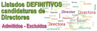 Resolución DEFINITIVA de candidaturas de Selección de Directores