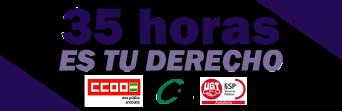 CSIF, UGT y CCOO convocan paros en todos los centros de trabajo de la Función Pública andaluza contra el recurso del Gobierno central a la jornada laboral de 35 horas semanales