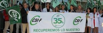 CSIF-A califica de ataque a los empleados públicos andaluces el recurso del Gobierno central a la jornada de 35 horas