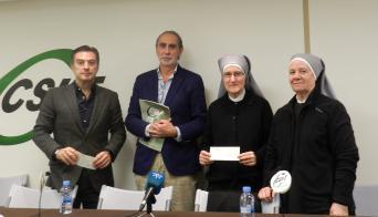 Acto entrega recaudación lotería Navidad Málaga