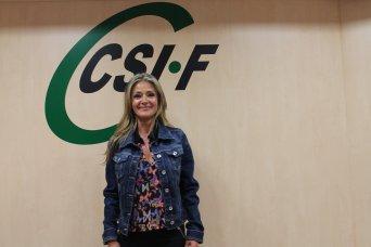 Ana Márquez, presidenta de CSI·F Justicia Valencia