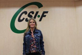Ana Márquez, presidenta CSIF Justicia Valencia