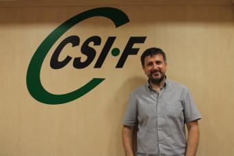Arturo Losada, presidente CSI·F Justicia Comunidad Valenciana