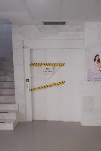 CSIF ascensor averiado Fernando el Católico Castellón