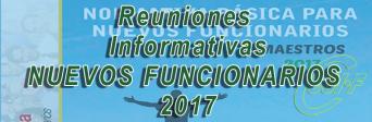 Granada - Reunión informativa NUEVOS FUNCIONARIOS 2017