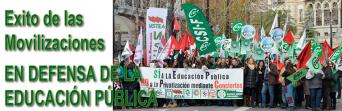 ÉXITO DE LAS MOVILIZACIONES EN DEFENSA DE LA EDUCACIÓN PÚBLICA.