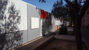 Centro como el IES Les Alfàbegues de Bétera sigue desarrollando clases en barracones