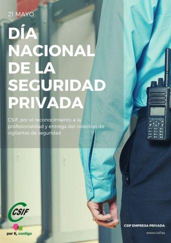 CSIF Granada reconoce la labor del colectivo de vigilantes de seguridad privada