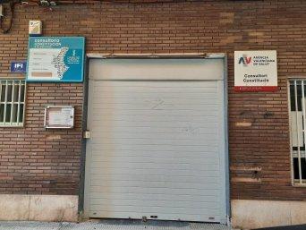 Cierre consultorio Constitución Castellón
