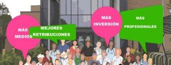 Continúan las movilizaciones contra el colapso en los centros y la sobrecarga de los profesionales sanitarios