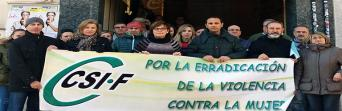 CSIF Granada contra la violencia de género