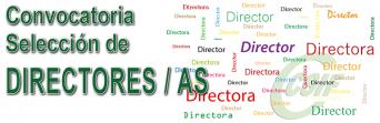Convocatoria de concurso de méritos para la selección de Directores y Directoras