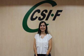 Cruz García, delegada de CSIF Justicia Comunidad Valenciana