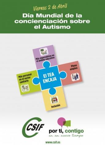 CSIF Día Mundial del Autismo