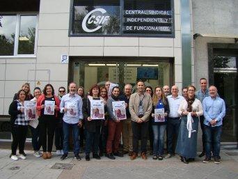 CSIF renueva su compromiso en la lucha contra el cáncer de mama apoyando a pacientes y familiares