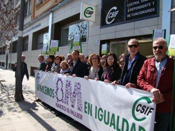 CSIF convoca huelga para denunciar los incumplimientos en materia de igualdad