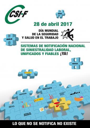 Día mundial de seguridad y salud en el trabajo 28 abril 2017