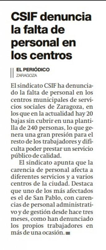 23 marzo de 2021 El periódico de Aragón