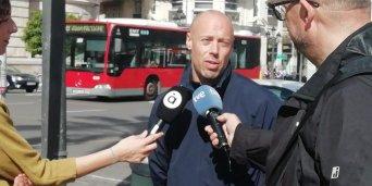 Emilio Rodríguez, portavoz  de CSIF en la Policía Local de Valencia