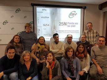 CSI-F Burgos se suma a la campaña contra la violencia de género