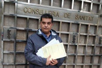 Fernando García, delegado de CSIF en el hospital Doctor Moliner