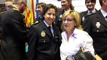 Estefanía Navarrete e Inma Aparisi