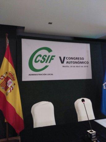 V Congreso Autonómico del Sector de Administración Local de Melilla.