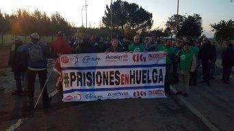 Los funcionarios de prisiones comienzan cuatro jornadas de huelga general en la cárcel de Albolote