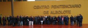 CSIF protesta: Los trabajadores de mantenimiento de la prisión de Albolote llevan seis meses sin cobrar la nómin