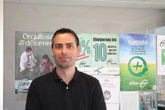 Raúl Almonacid, delegado de CSI·F