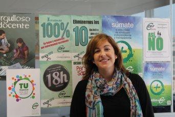 Estela Hontanilla, presidenta CSIF Educación Valencia