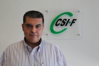 Fernando García, delegado de CSIF Sanidad
