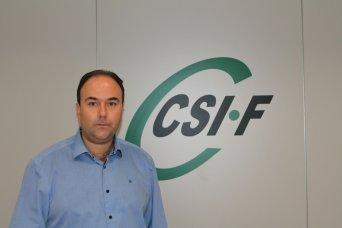 Ezequiel Archilla, vicepresidente de CSIF Administración Central Comunidad Valenciana