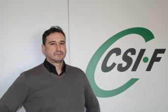 José Luis Sáez, presidente CSIF Seguridad Privada Comunidad Valenciana