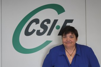 Ruth López, portavoz de CSIF Empresa Privada