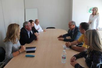 Reunión dirigentes de CSIF con el senador Fernando de Rosa