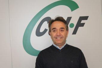 José Luis Arnau, responsable de prevención de CSIF provincia de Valencia