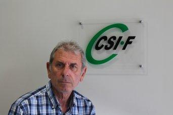 Juan Ramón Capilla, delegado de CSIF