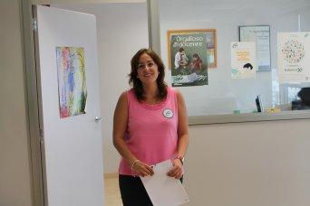 Estela Hontanilla, presidenta provincial CSI·F Educación Valencia