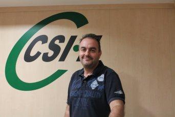 Bruno Antuña, delegado CSIF Justicia Valencia