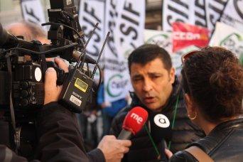 José Alfonso, portavoz de CSIF Administración Local Comunidad Valenciana