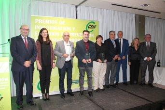 Premios con organizadores