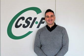 José Luis Sáez, responsable de CSIF Seguridad Privada