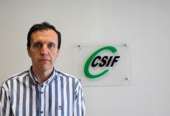 José Seco, presidente de CSIF Educación Comunidad Valenciana