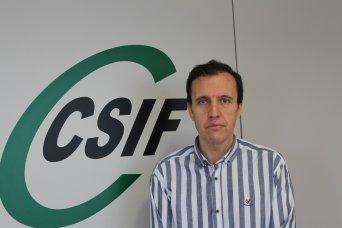 José Seco, portavoz de CSIF Educación Comunidad Valenciana