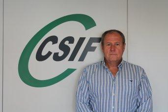 Jesús Sánchez, presidente de CSIF Administración Local en la provincia de Valencia