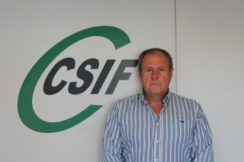 Jesús Sánchez, presidente provincial de CSIF Administración Local Valencia